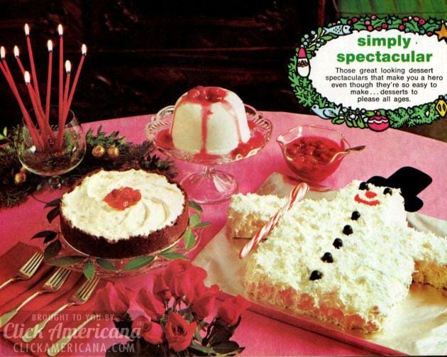 Three easy & classic Cool Whip dessert recipes (1971)