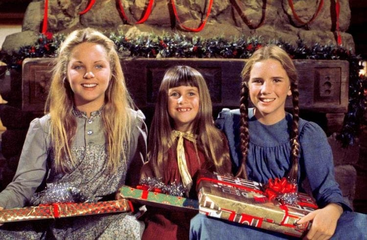 Three girls from Little House on the Prairie