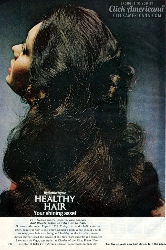 Three versatile hairstyles for her (1972)