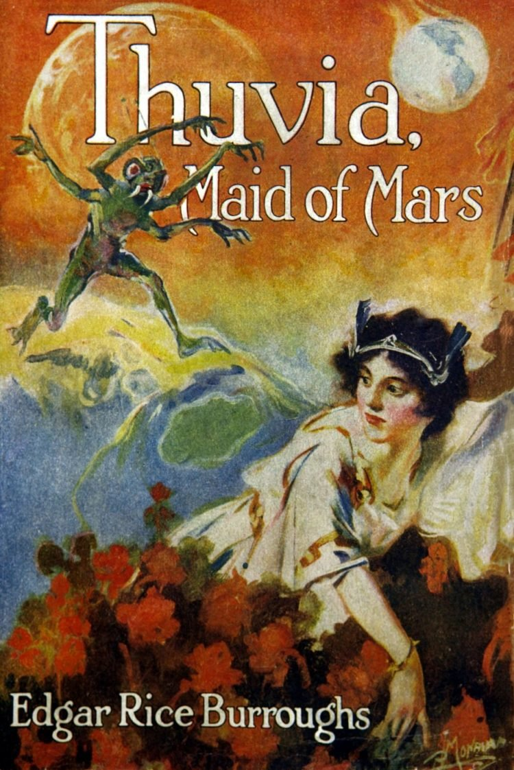 Thuvia Maid of Mars - Vintage book cover