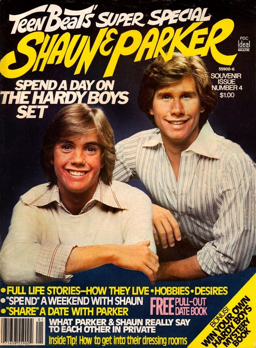 Tiger Beat Shaun and Parker cover