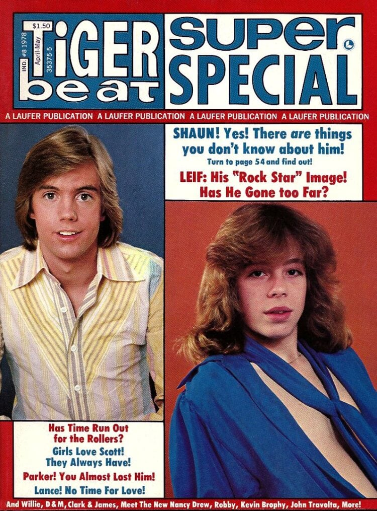 Tiger Beat Special - April May 1978 - Shaun Cassidy - Leif Garrett