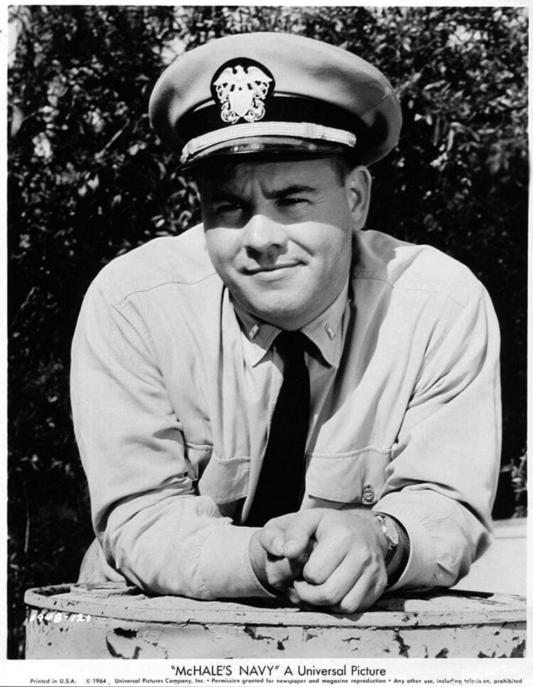 Tim Conway - Promo photo for McHale's Navy