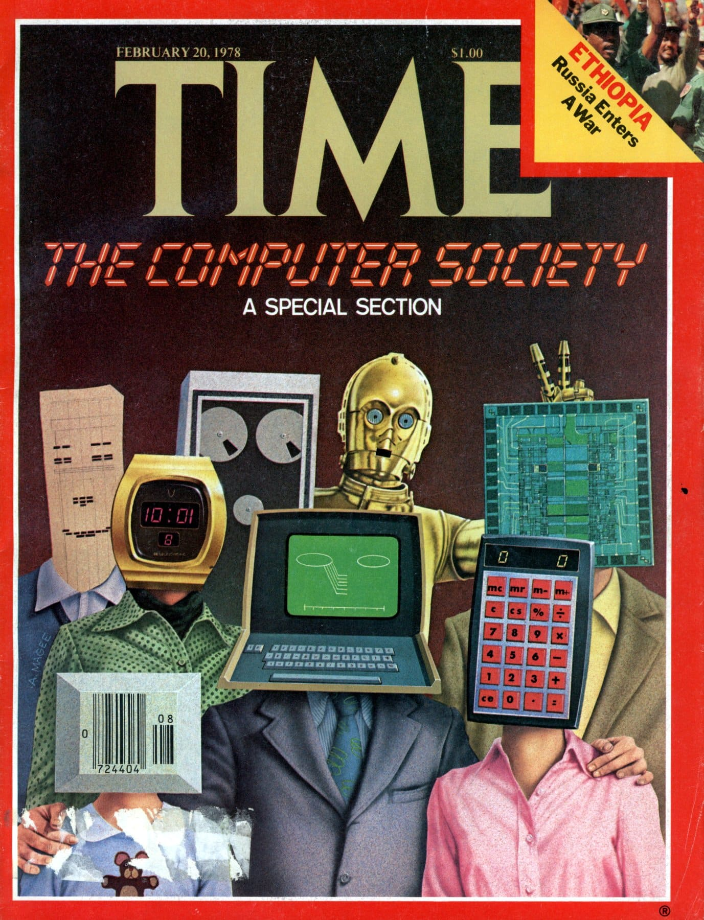 Time magazine - The computer society (1978)