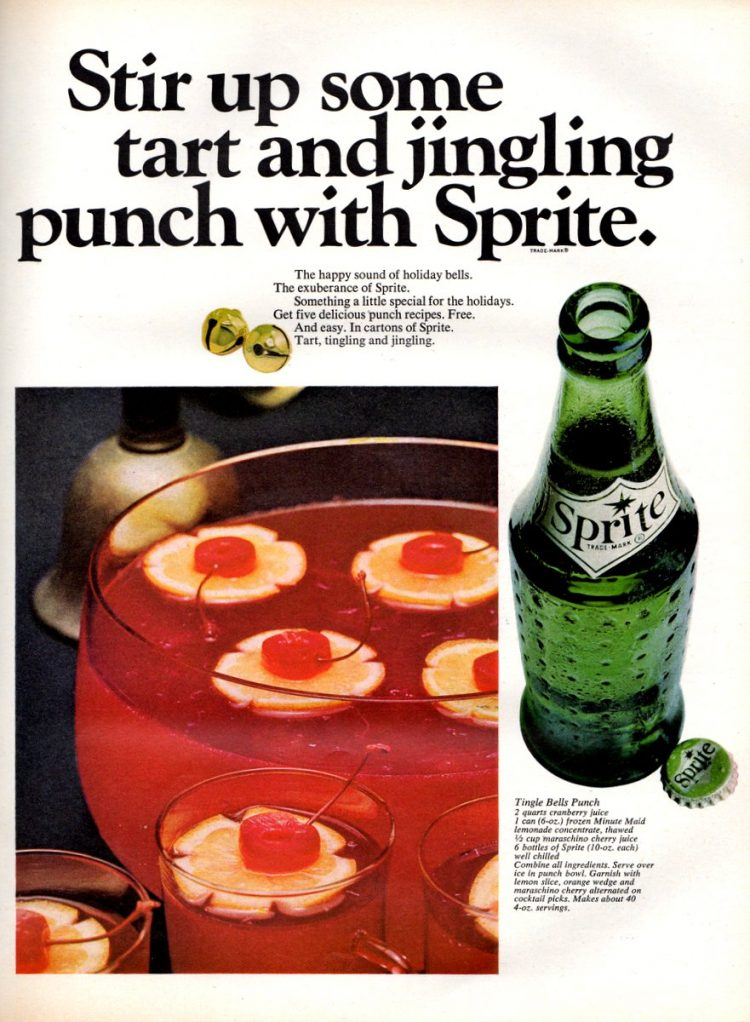 Tingle Bells Punch recipe (1965)