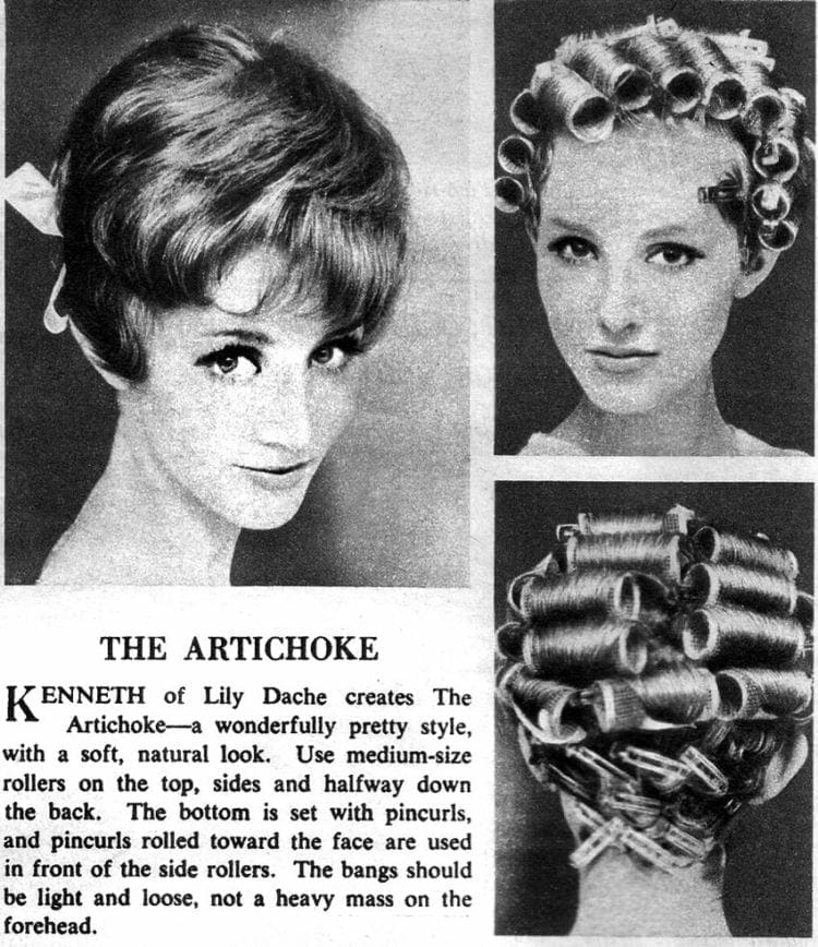 Tips to create the artichoke hairstyle