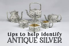 Tips to identify antique silver A vintage visual guide at Click Americana