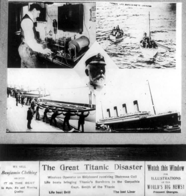 Titanic - Wireless messages