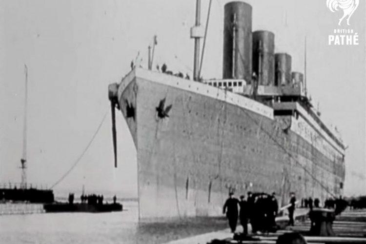 Titanic and Survivors - Genuine 1912 Footage