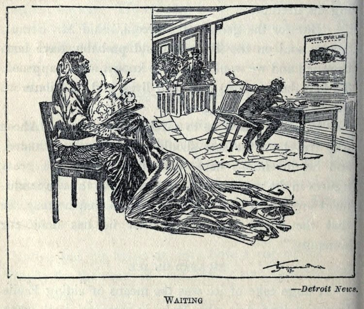 Titanic disaster editorial cartoon 1912 (15)