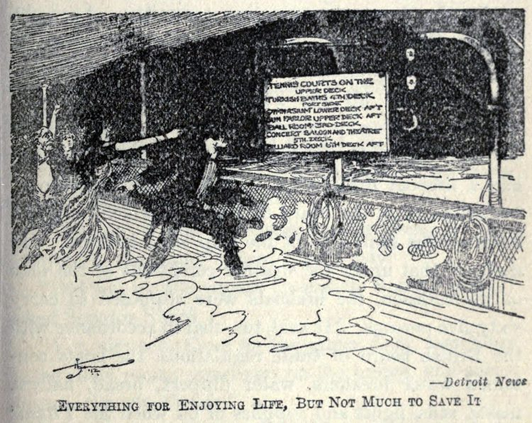 Titanic disaster editorial cartoon 1912 (18)