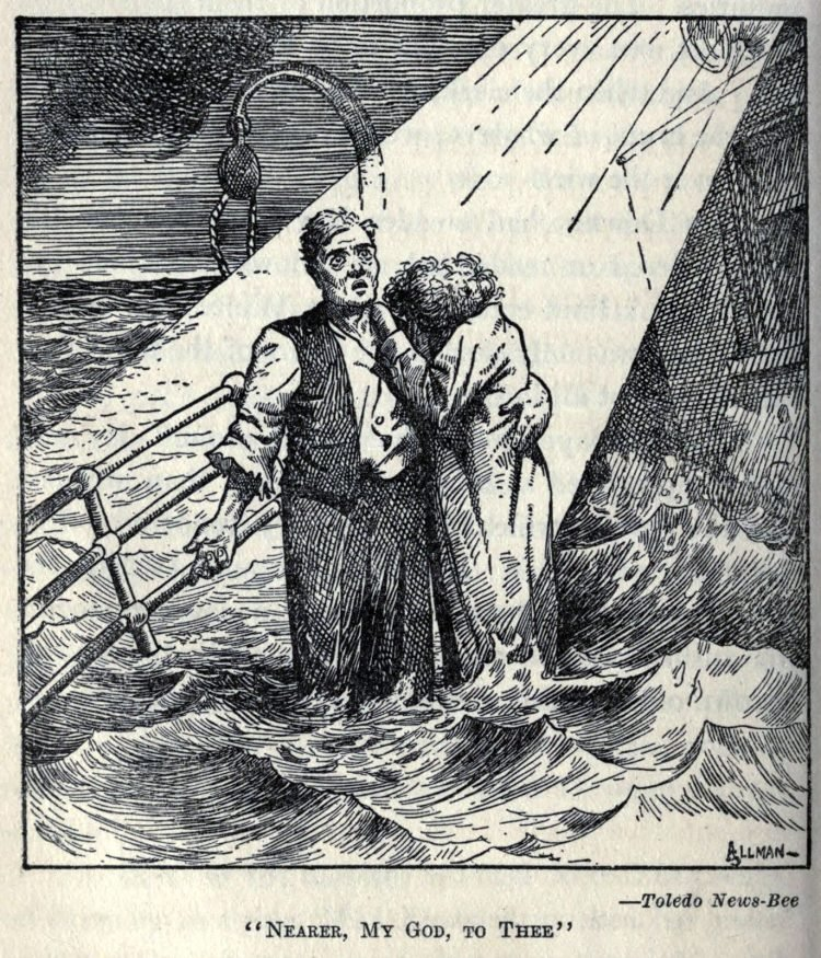 Titanic disaster editorial cartoon 1912 (8)