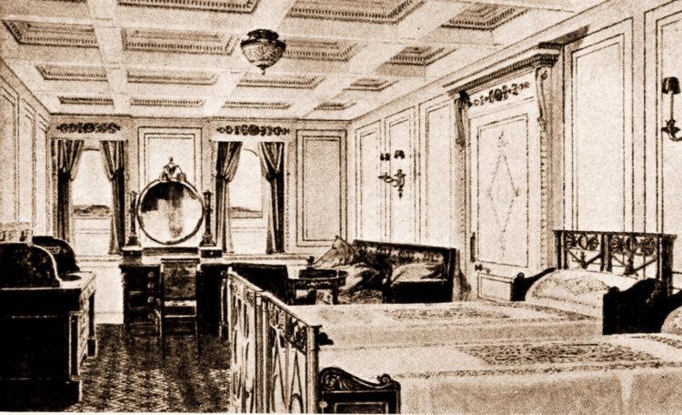 Titanic guest room - cabin