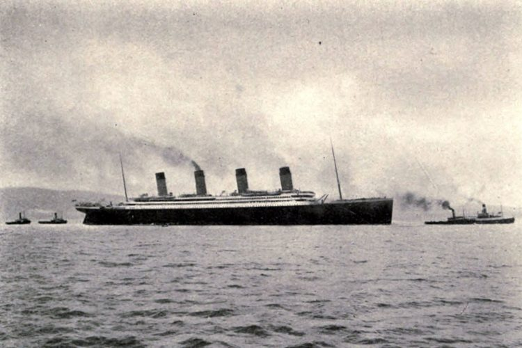 Titanic new leaving Belfast