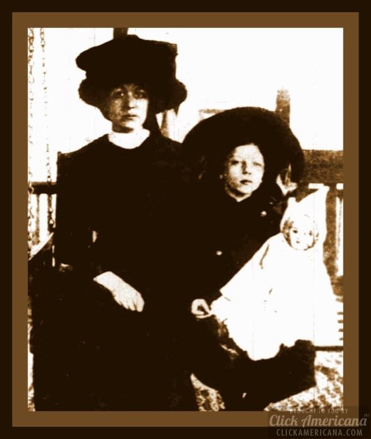 Titanic survivor Charlotte Collyer and Marjorie Collyer