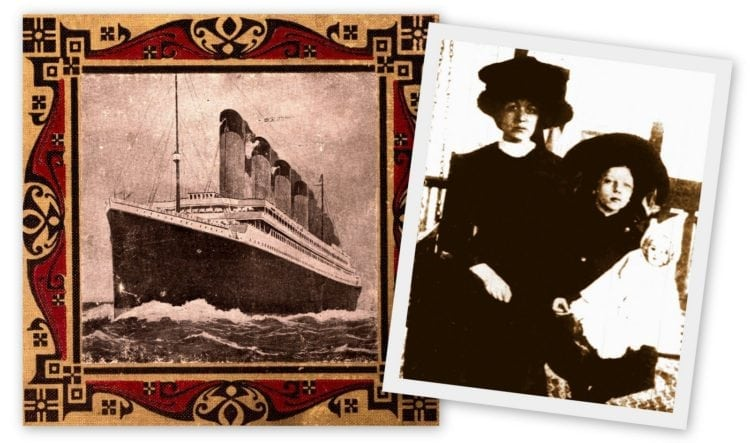 Follow-up with Titanic survivor Charlotte Collyer (1912)