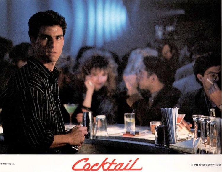 Tom Cruise in Cocktail - Bar scene 1980s