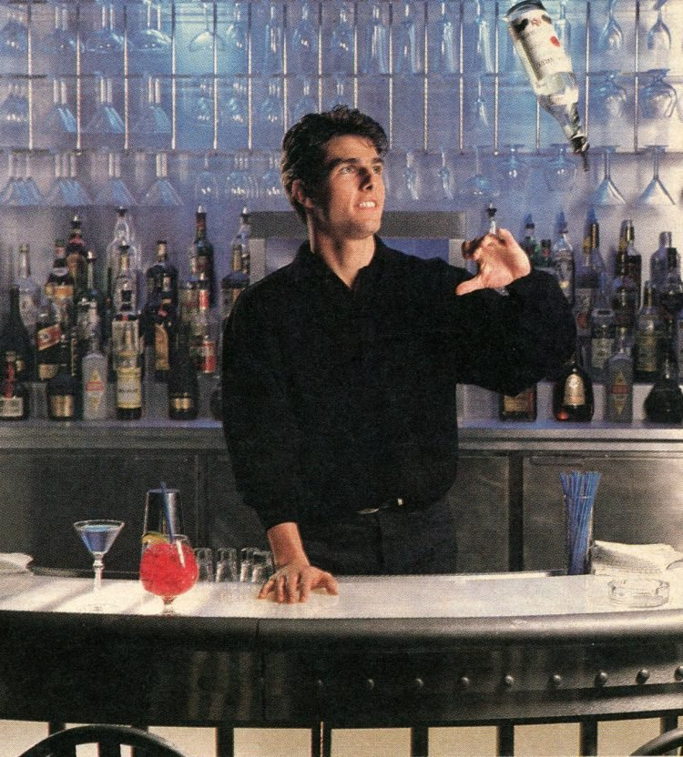 Tom Cruise in Cocktail - movie - 1988