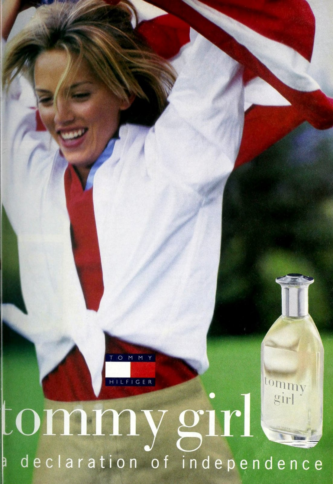 Popular vintage perfumes from the '90s - Tommy Girl fragrance from Tommy Hilfiger (1998) at ClickAmericana.com