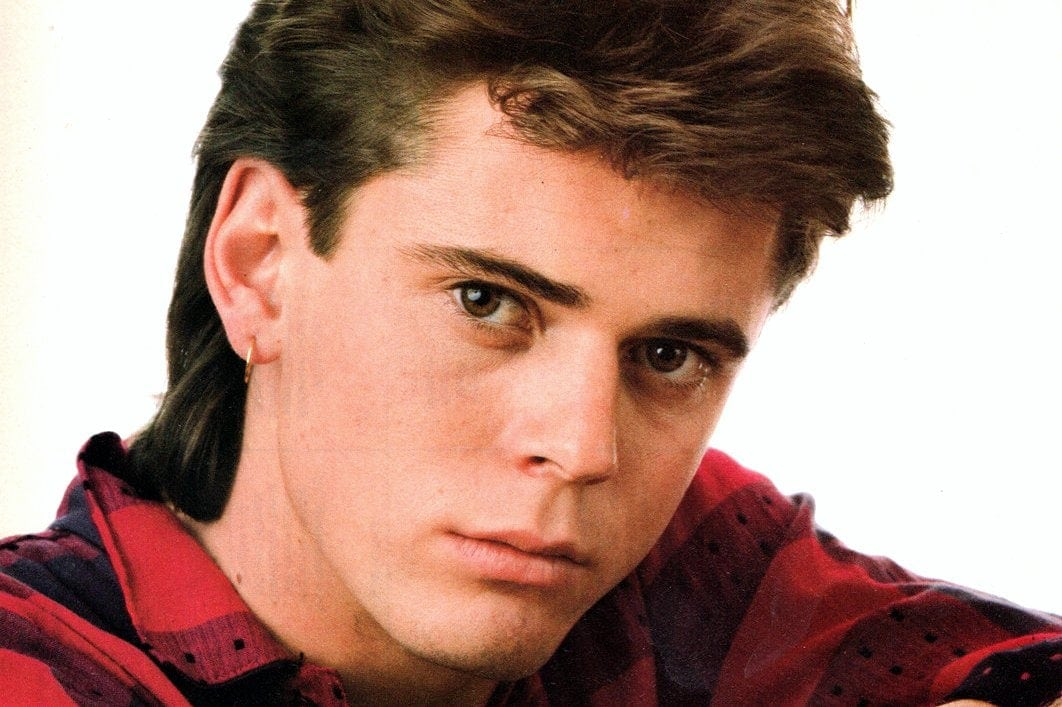 Tommy Howell is already a 'veteran' actor at age 17 (1985)