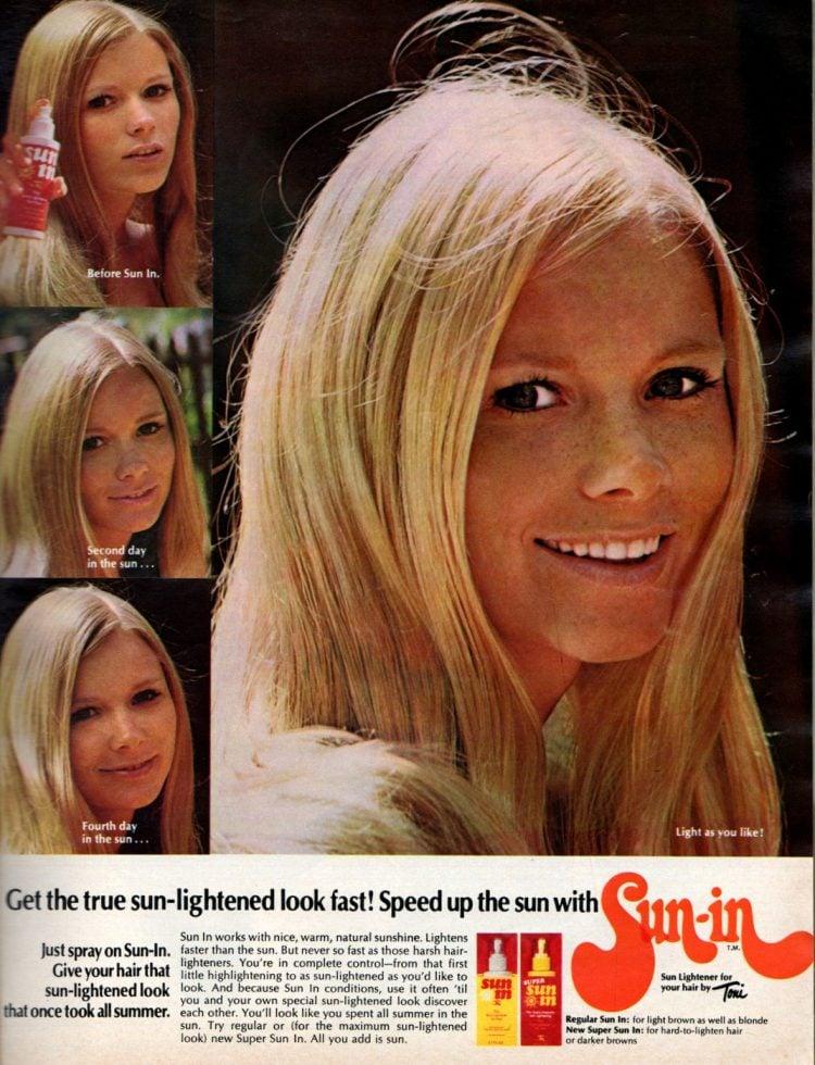 Toni Sun In spray blonder - 1970