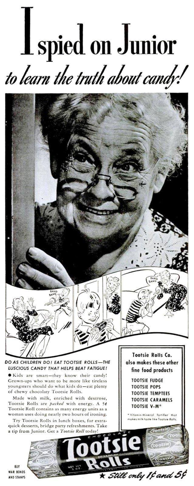 Tootsie Rolls - Spied on Junior (1943)