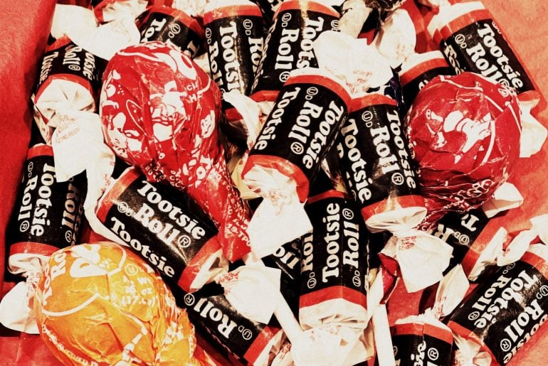 Tootsie Rolls and Tootsie pops candy