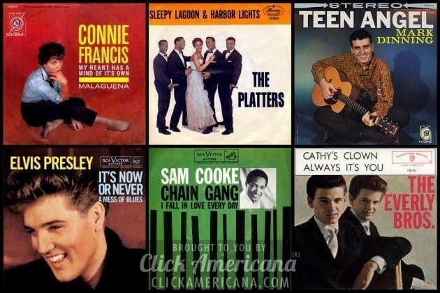 Top 100 Billboard hit songs of 1960