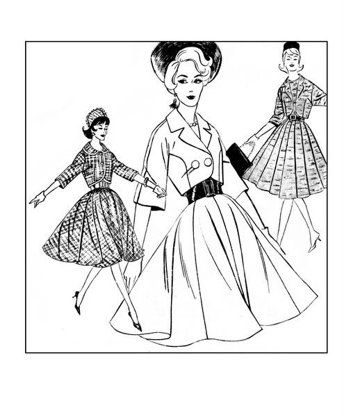 top-fashions-of-the-60s-vintage-women-adult-coloring-books-page-previews-1