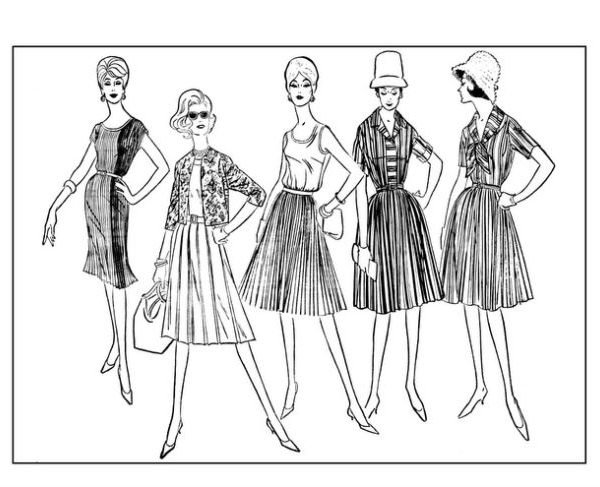 top-fashions-of-the-60s-vintage-women-adult-coloring-books-page-previews-4