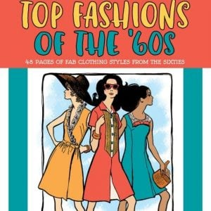 top-fashions-of-the-60s-retro-coloring-book-cover