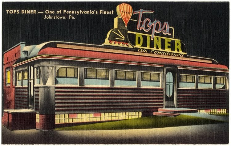 Tops Diner -- One of Pennsylvania's finest, Johnstown, Pa.