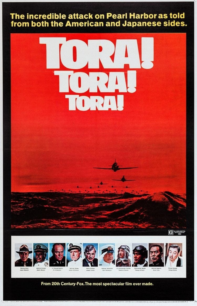 Tora! Tora! Tora! movie 1970
