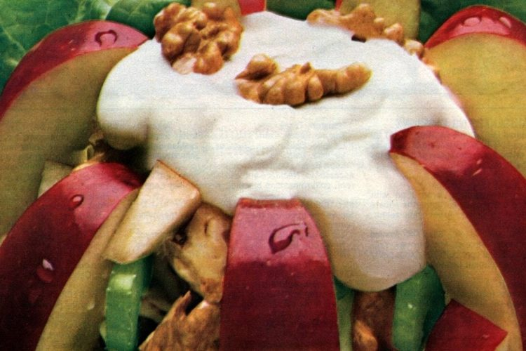 Make Waldorf ritzier Tossed Waldorf Salad recipe (1982)