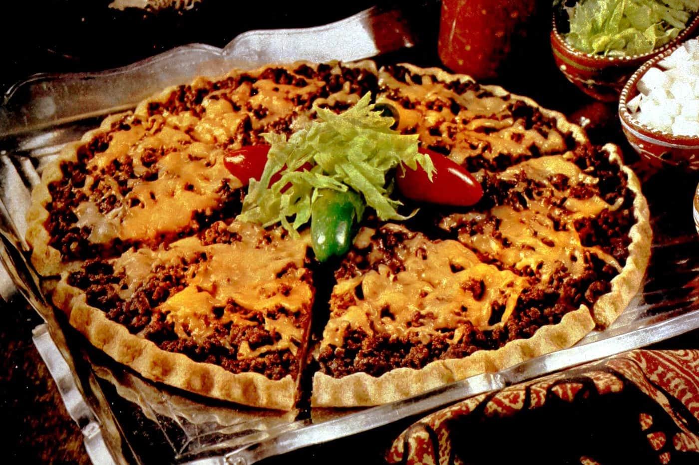 Tostado pizza retro 70s dinner recipe (2)