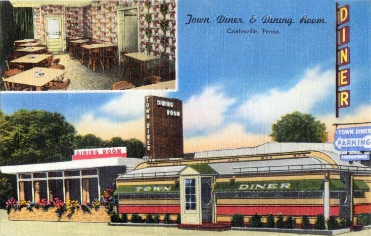 Town Diner & Dinning Room, Coatesville, Penna