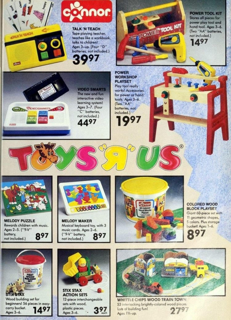 Tomy from Toys R Us 1986
