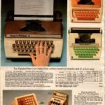 Toy typewriters - Sears Writer 1, 2, 3 and 4 - Plus pretend cash registers