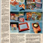 Vintage drawing toys - Etch-a-Sketch, Dial-a-Design, Hasbro Skedoodle