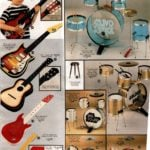 Guitars and drum kids for kids - Toy instruments