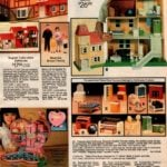 Victorian-style dollhouse, English Tudor-style dollhouse, Powder Puff Sweetheart playhouse