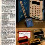 Retro electronic learning toys - Computron, Speak & Spell, Speak & Math, Speak & Read