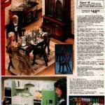 Wooden Barbie doll house furniture - plus kitchen, dishes, dinnerware, food and more