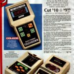 Retro electronic sports games with LED action display screen - Coleco