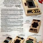 Vintage electronic sports games on handheld LED screens - Football, baseball, basketball, hockey and soccer