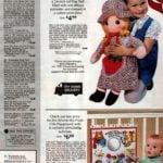 Big rag doll and Winnie-the-Pooh crib playground for babies