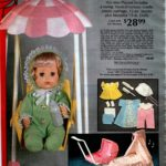 Baby doll Carol and her nursery