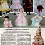 Vintage Effanbee dolls - Four Seasons (Spring, Summer, Autumn, Winter) and baby dolls