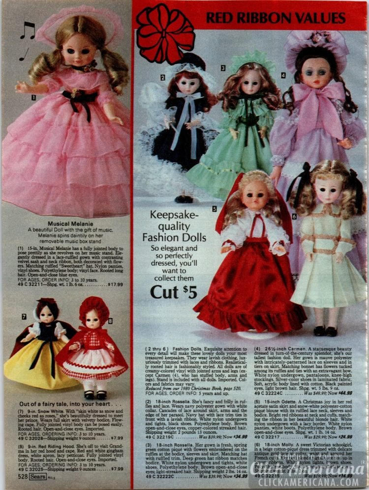 Keepsake-quality fashion dolls - elegant and perfectly-dressed