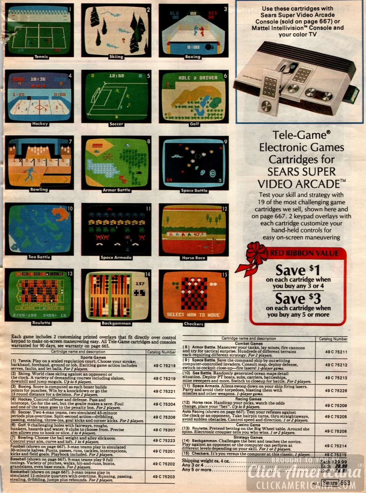 Toys, games and fun for kids in the 1981 Sears Catalog